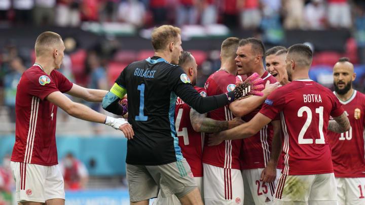 Hungary earned a point