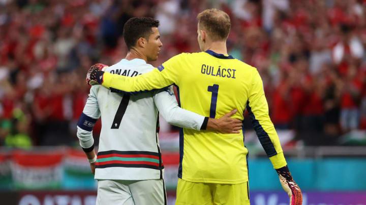 Cristiano Ronaldo, Peter Gulacsi