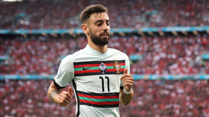 Bruno Fernandes hasn't been at his best for Portugal in Euro 2020 like he usually is for Man Utd