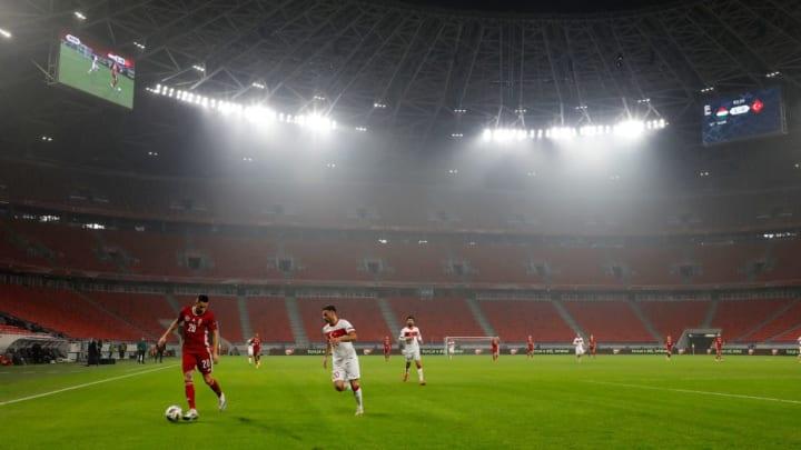 Normalerweise spielt die ungarische Nationalmannschaft im Ferenc-Puskas-Stadion.