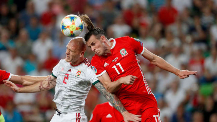 For a winger, Bale is unusually good at planting his swede on the ball