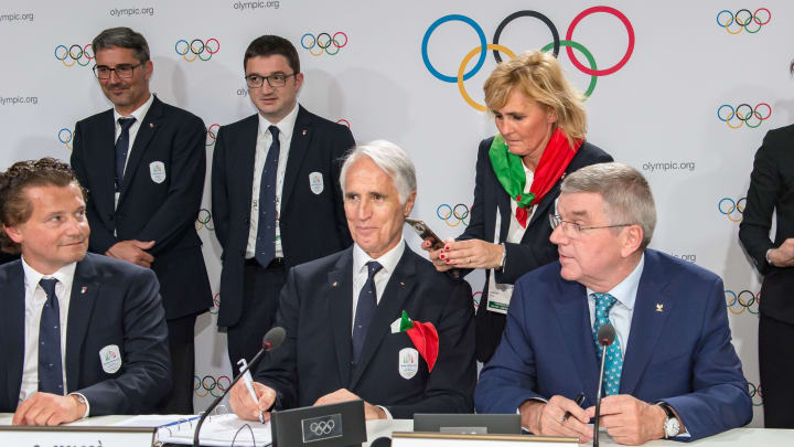 IOC Announcement - Press Conference