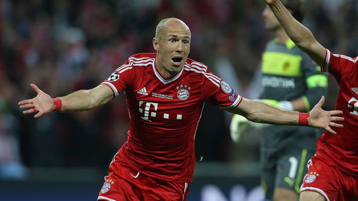 Robben anotou o gol que deu a Champions ao Bayern, em 2013