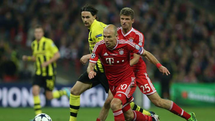 Arjen Robben  Bayern de Munique Borussia Dortmund Champions League Wembley