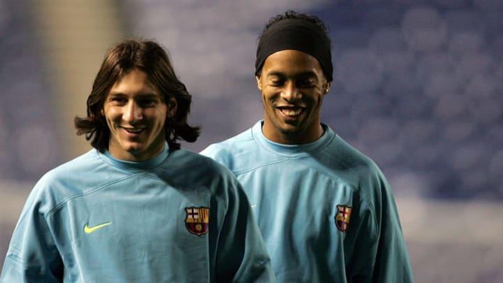 Lionel Messi, Ronaldinho