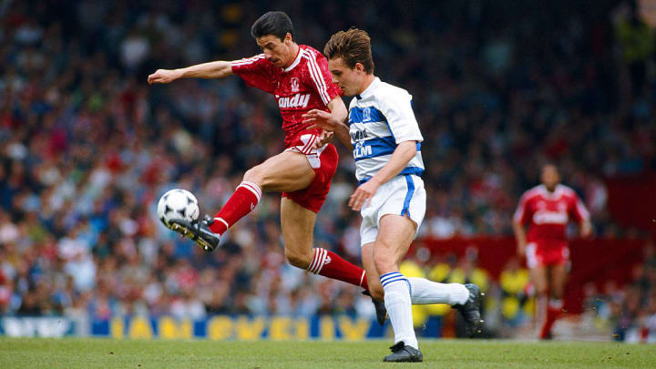 Rush is the record Merseyside derby goalscorer