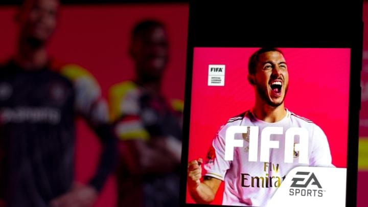 Portada videojuego FIFA