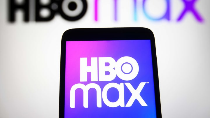 In this photo illustration a HBO Max logo of an US TV...