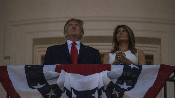 Independence Day Celebrated At The White House