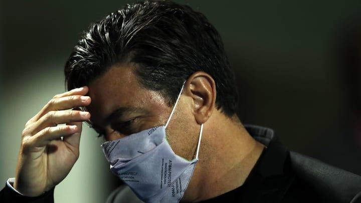Hat nur noch zwölf Spieler zur Verfügung: River-Trainer Marcelo Gallardo