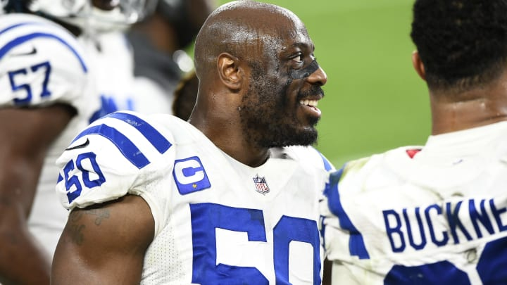 Three most likely Justin Houston destinations in free agency following the 2021 NFL Draft.