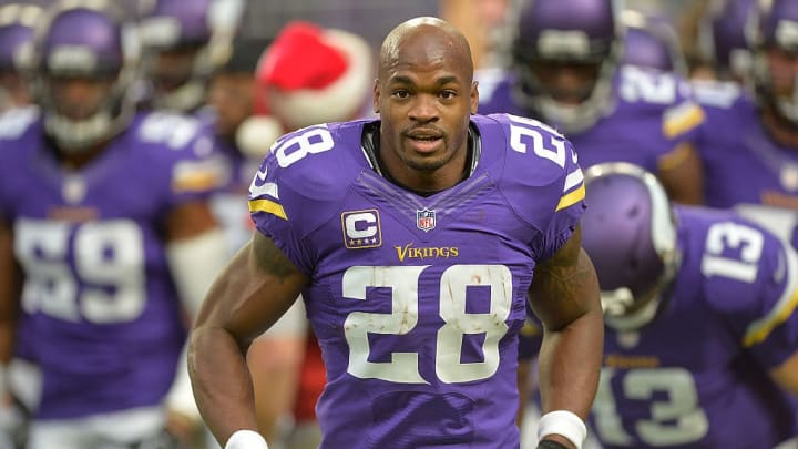 Former Minnesota Vikings RB Adrian Peterson had a unique form of the curse.