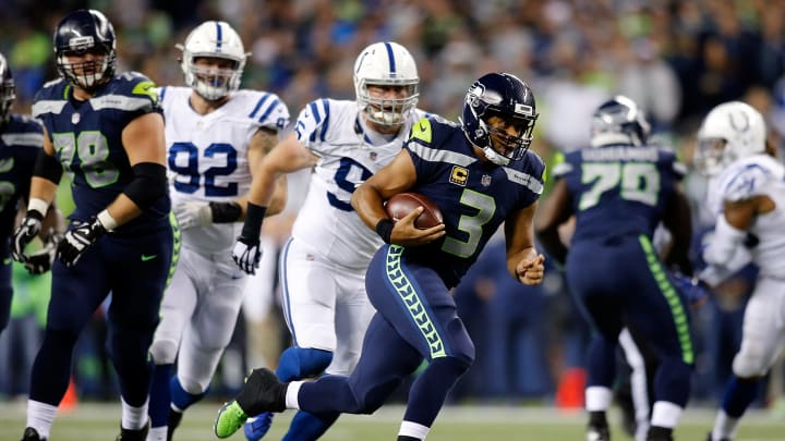 The Colts and Seahawks face off in Week 1.