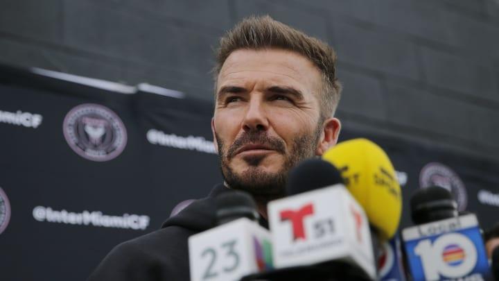 David Beckham, proprietario dell'Inter Miami