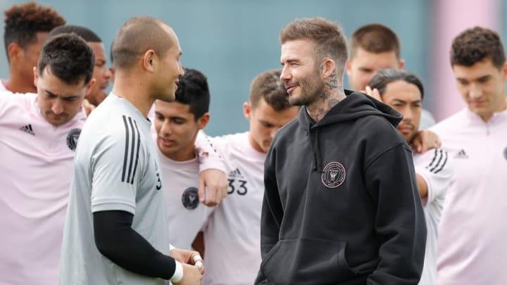 David Beckham, Luis Robles