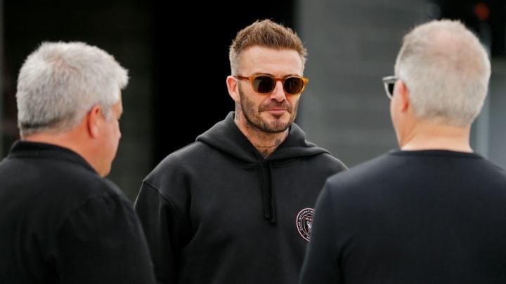 David Beckham, Paul McDonough, Jorge Mas