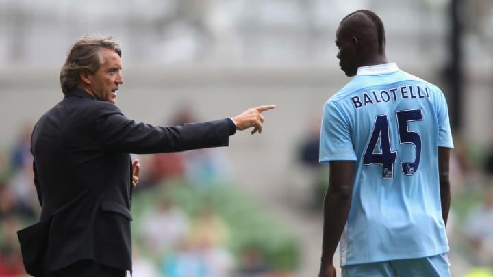 Roberto Mancini, Mario Balotelli