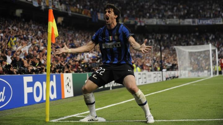 Inter Milan's Argentinian forward Diego