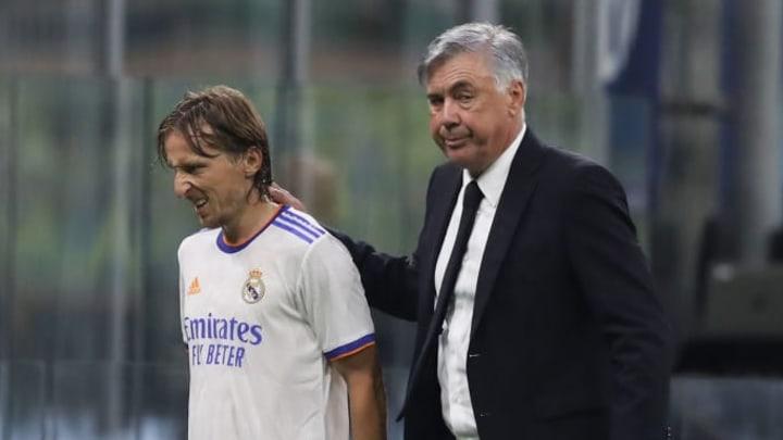 Luka Modric, Carlo Ancelotti