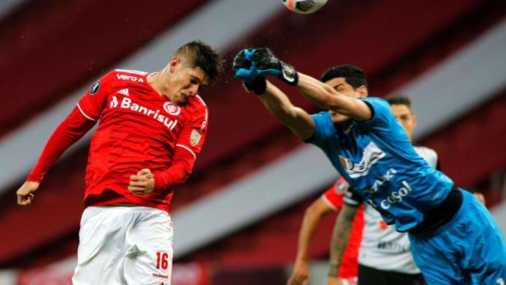 Carlos Palacios, Carlos Lampe Copa América Internacional