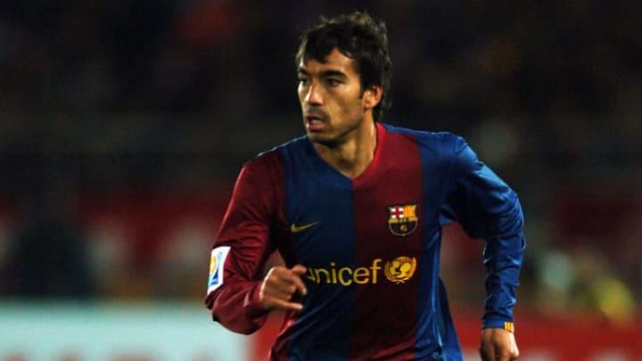 Van Bronckhorst lief 154 Mal für Barcelona auf