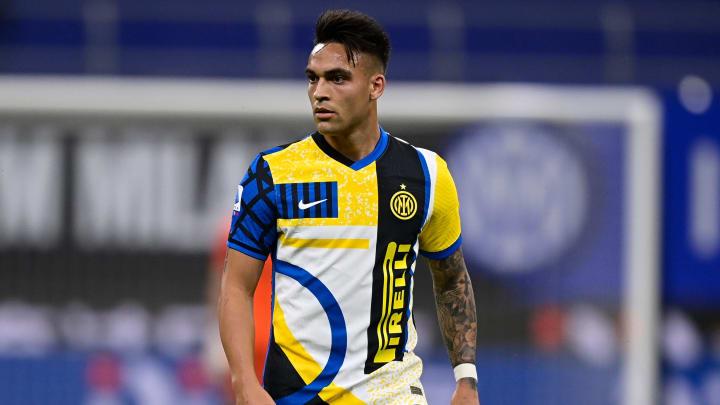 Lautaro Martínez, atacante da Inter de Milão, não está com futuro garantido na equipe de Antonio Conte.