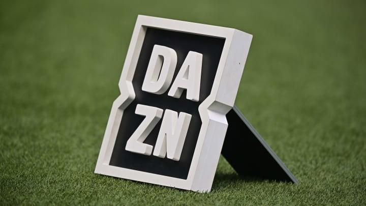 Il logo Dazn