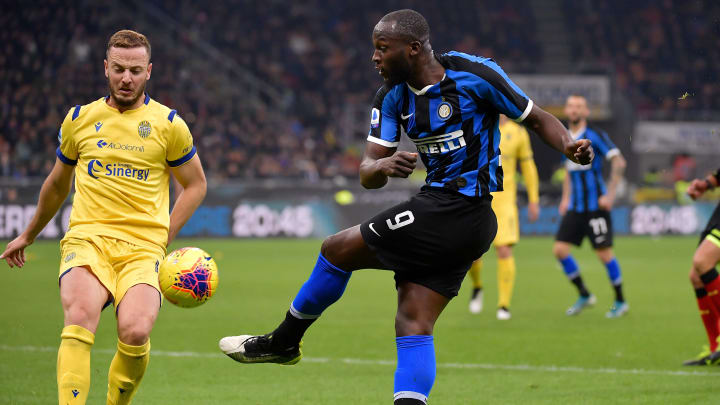 Inter came from a goal down to beat Hellas Verona 2-1 earlier in the season