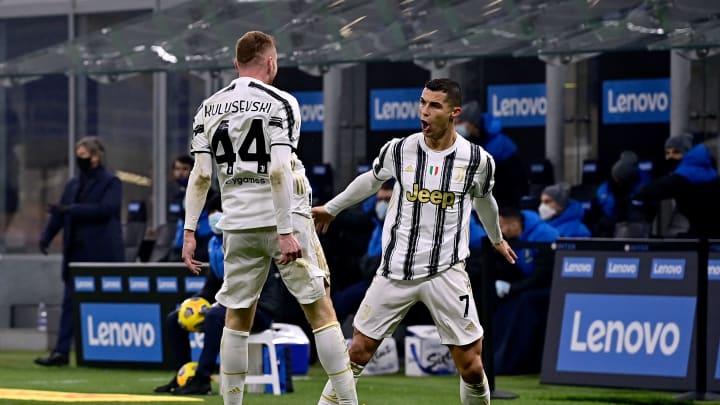 Kulusevski and Ronaldo