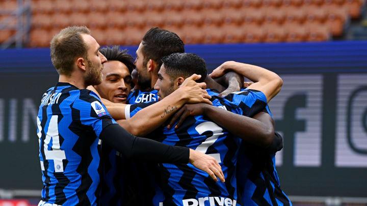 Inter Milan sukses mengatasi perlawanan Sassuolo, Kamis (8/4) dini hari WIB