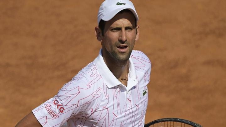 Novak Djokovic avanzó sin problemas a la tercera ronda del Masters 1000 de Roma