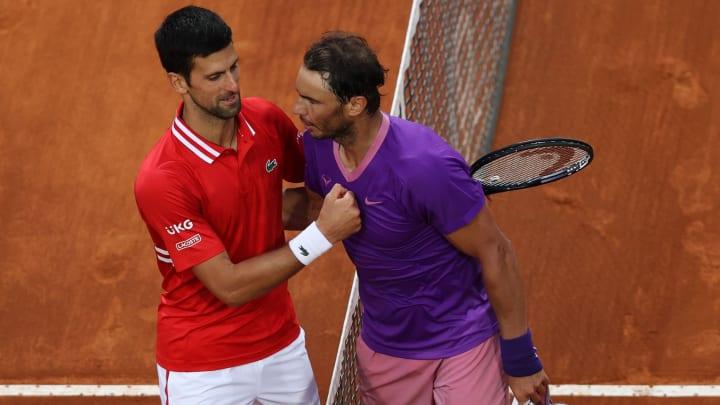 Djokovic et Nadal également fans de foot