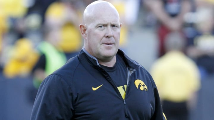 Iowa has fired its strength and conditioning coach Chris Doyle.
