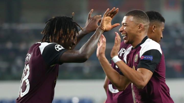 Le PSG s'est imposé grâce à deux buts de Moise Kean sur deux passes de Kylian Mbappé