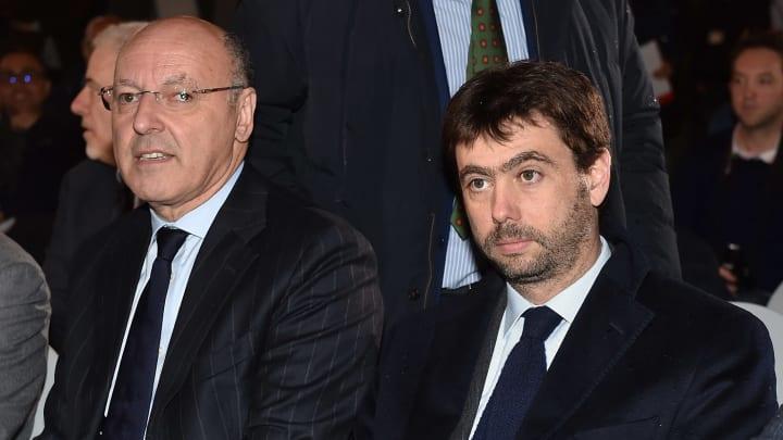 Giuseppe Marotta, Andrea Agnelli