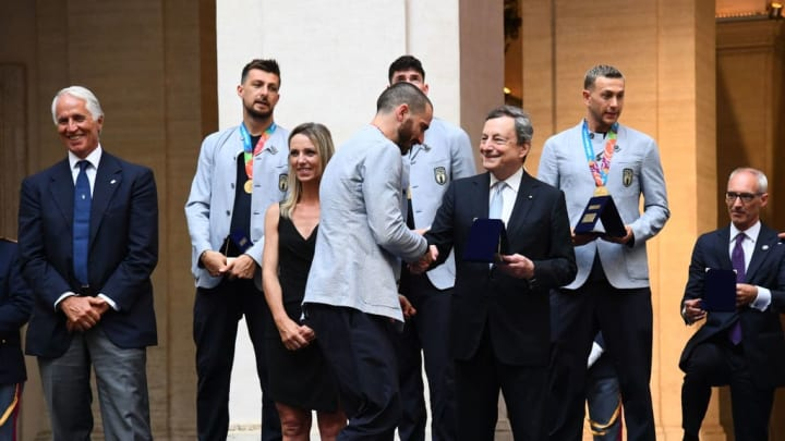 Mario Draghi, Leonardo Bonucci