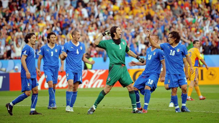 Gianluigi Buffon goleiro Italia Copa