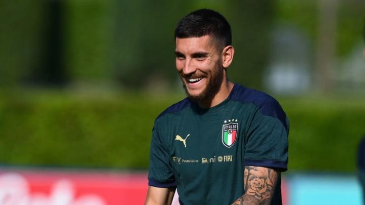 lorenzo pellegrini italia eurocopa