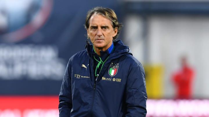 Il CT Roberto Mancini