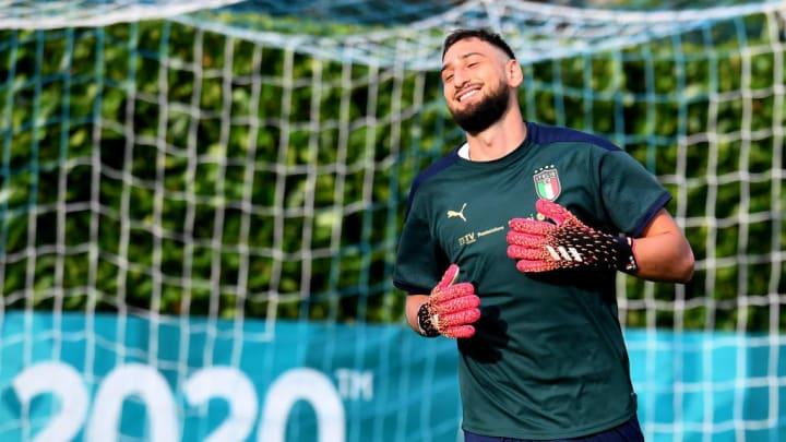 Gianluigi Donnarumma Seleção Italiana Itália Eurocopa Euro