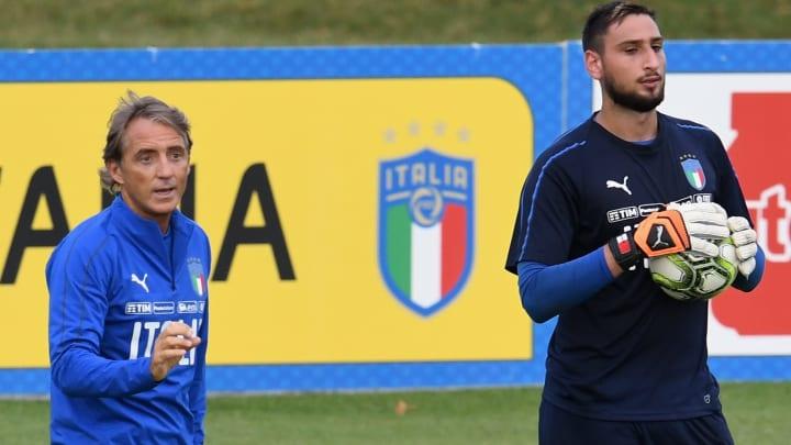 Mancini est optimiste sur la future destination de Donnarumma.