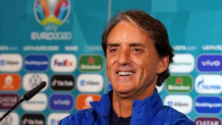 Roberto Mancini, commissario tecnico dell'Italia