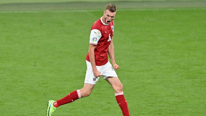 Sasa Kalajdzic traf im EM-Achtelfinale gegen Italien