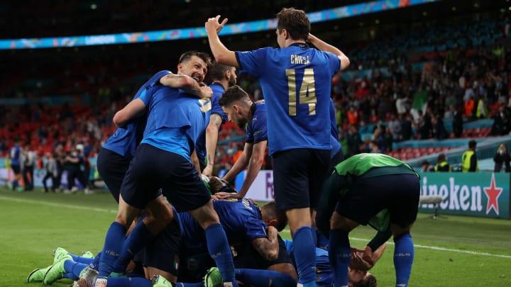 La gioia dell'Italia contro l'Austria