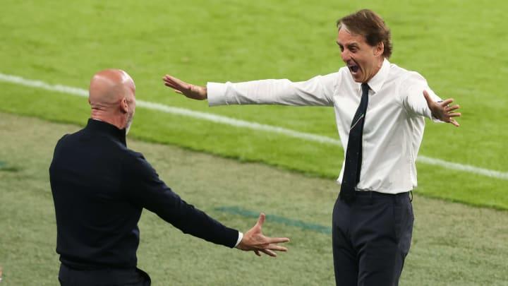 Gianluca Vialli and Roberto Mancini