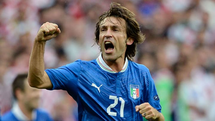 Andrea Pirlo has won four EURO man of the match awards