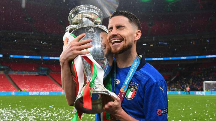 Jorginho wurde Europameister