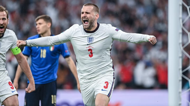 Luke Shaw suffered broken ribs at Euro 2020