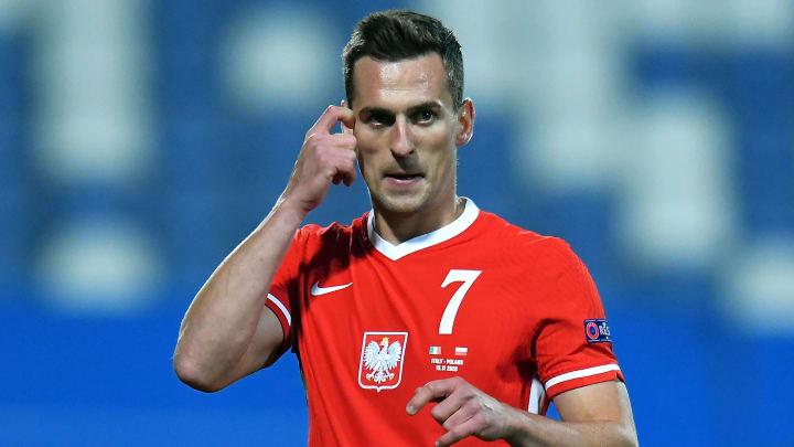 Avec 49 sélections pour 14 buts, Arkadiusz Milik est un joueur d'expérience pour l'équipe polonaise. Mais il pourrait bien manquer à l'appel en juin.