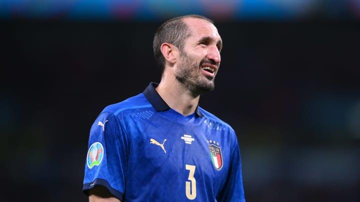 Giorgio Chiellini, l'exceptionnel capitaine de l'Italie.